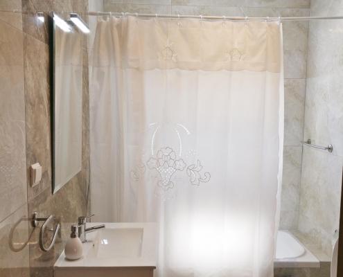 Bild des Badezimmers